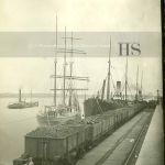 Unknown ships Breakwater