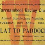 Flat to paddock 1901