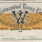 Members ticket 1901