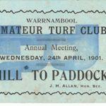 Amature turf club 1901