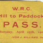 Hill to Paddock pass 1901